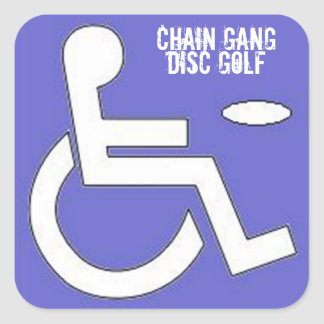 Pops Handicap Sticker