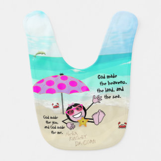 "Pops' Peeps ""The You & The Me"" Baby Bib"