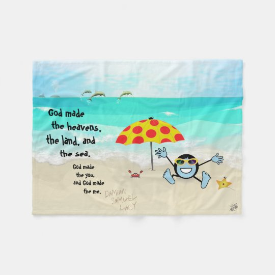 "Pops' Peeps ""The You & The Me"" Fleece Blanket"