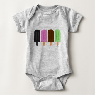 Popsicle Baby Jersey Bodysuit