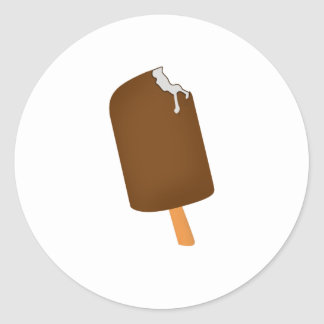 Popsicle Classic Round Sticker