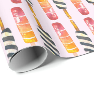 Popsicle Dreams Wrapping Paper
