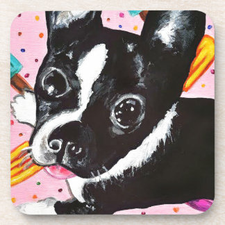 Popsicle Pup Beverage Coaster