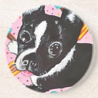Popsicle Pup Beverage Coasters