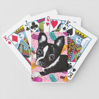 Popsicle Pup Poker Deck