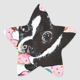 Popsicle Pup Star Sticker