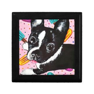 Popsicle Pup Trinket Box