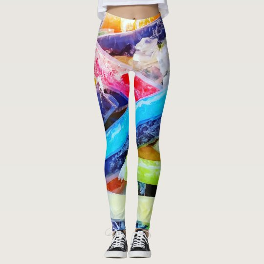 Popsicle Ribbons Leggings