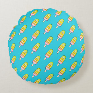 Popsicle Round Pillow