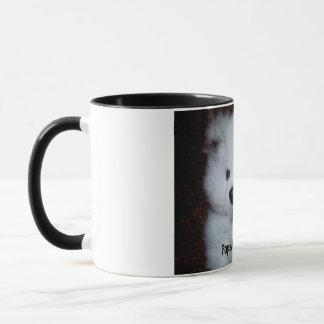 Popsicle the Bear - B & W Mug