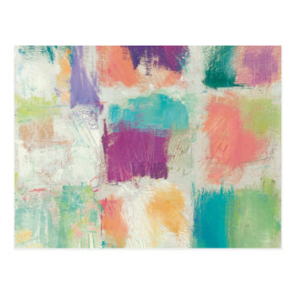 Popsicles II Stone Abstract Print | Mike Schick Postcard