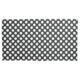 Popular Black and White Polka Dots Pillowcase