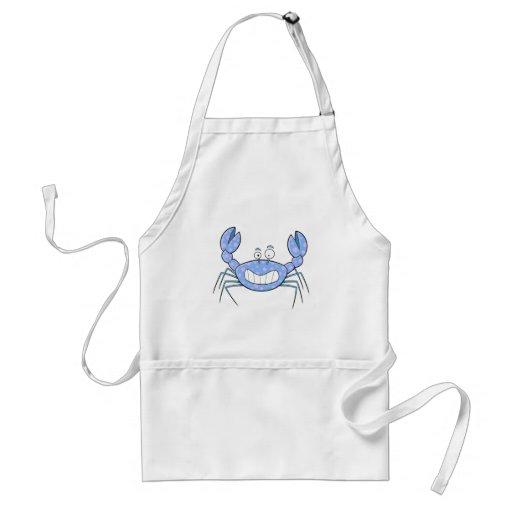 Popular Blue Crabby Crab Unique Cute Gift Present Aprons