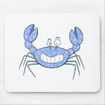 Popular Blue Crabby Crab Unique Cute Gift Present Mousepads