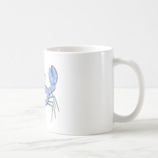 Popular Blue Crabby Crab Unique Cute Gift Present Mugs