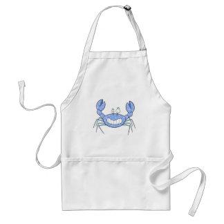 Popular Blue Crabby Crab Unique Cute Gift Present Standard Apron