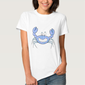 Popular Blue Crabby Crab Women's T-shirt for Her