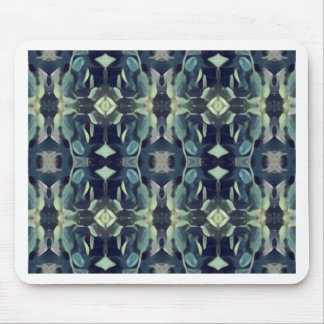 Popular Blue Teal Colors Tribal pattern Mouse Pad