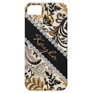 Popular CHIC DAMASK BLING  I phone 5 COVER