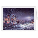 Popular  classic, vintage Christmas picture Greeting Card