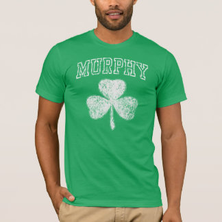 Popular Murphy Shamrock Irish t shirt