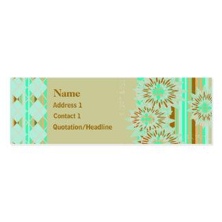 Popular Patterns Profile / Business Card
