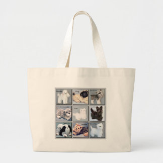 Popular Pooches Jumbo Tote Bag