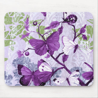 Popular Purple Butterflies Mousepad