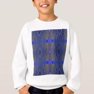 Popular Royal Blue Tribal Pattern Sweatshirt