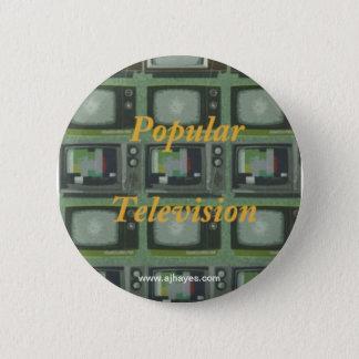 Popular Television Button