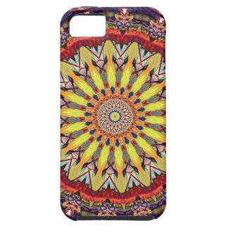 Popular Vibrant Mandala Pattern iPhone 5 Cover