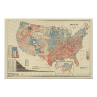 Popular vote 1880 poster