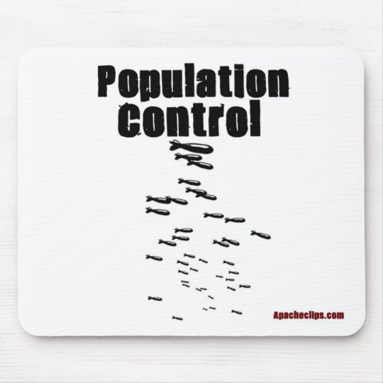 Population Control Mouse Pad