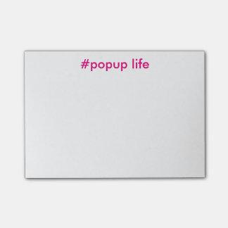 Popup Life Post-its Post-it Notes