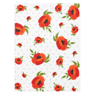 Popy Flowers Tablecloth