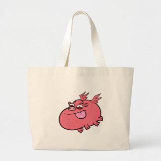 Porc effronté sacs