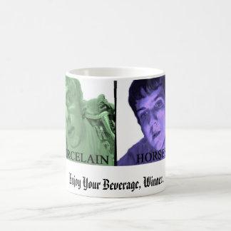 Porcelain Horses Winner Mug