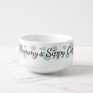 """Porcelain Mug Personalize """"Snipsn Snails Soup Mug"""""""