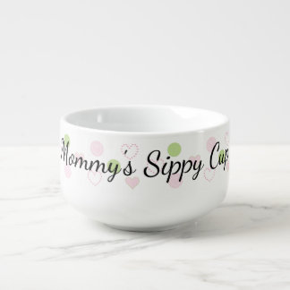 "Porcelain Mug Personalize ""Sugar N Spice Soup Mug"""