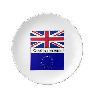 porcelain punt goodbye Europe Porcelain Plates