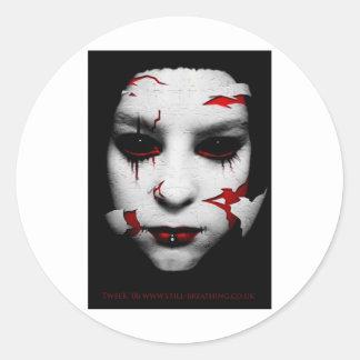Porcelain Round Sticker