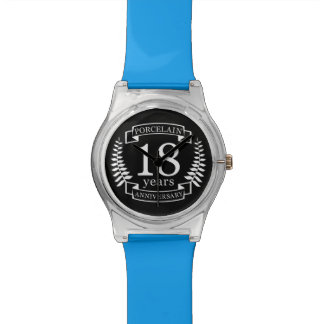 Porcelain traditional wedding anniversary 18 years watches