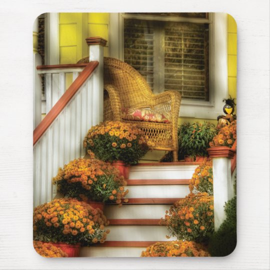 Porch - In the light of Autumn Mouse Pad