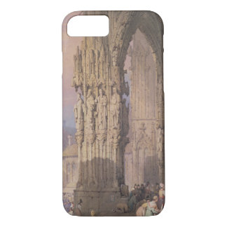 Porch of Regensburg Cathedral iPhone 7 Case
