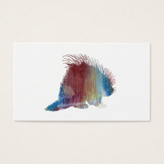Porcupine Art Business Card