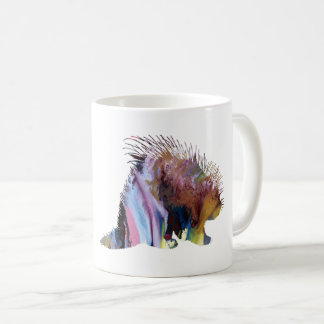 Porcupine Art Coffee Mug