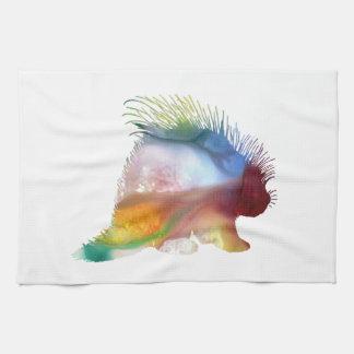 Porcupine Art Kitchen Towel