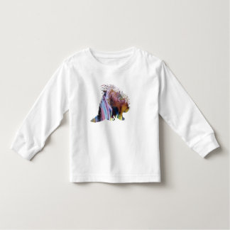 Porcupine Art Toddler T-shirt