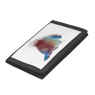 Porcupine Art Tri-fold Wallet
