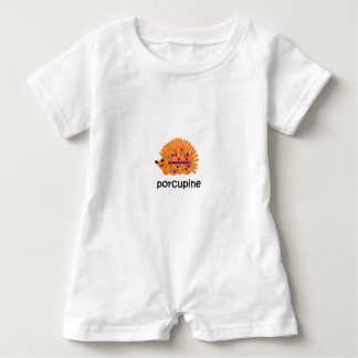 Porcupine Baby Romper